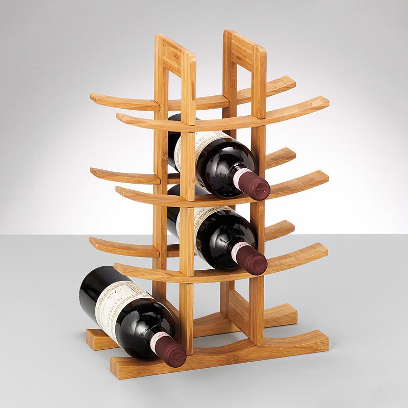 Подставка для бутылок вина своими руками
