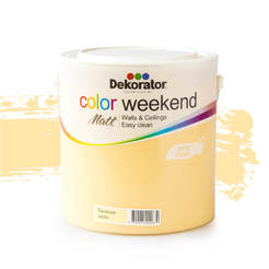 Латекс Color Weekend Бананов шейк 2.5л