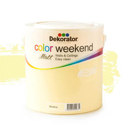 Латекс Color Weekend Ванила 2.5л