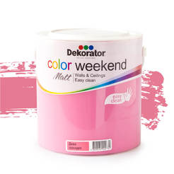 Латекс Color Weekend Дива орхидея 2.5л