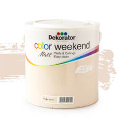 Латекс Color Weekend Кафе лате 2.5л