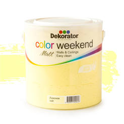 Латекс Color Weekend Лимонов пай 2.5л