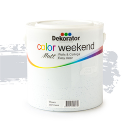 Латекс Color Weekend Лунна светлина 2.5л