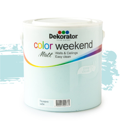 Латекс Color Weekend Полярно небе 2.5л