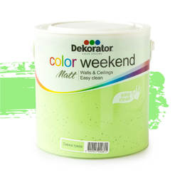 Латекс Color Weekend Свежа трева 2.5л