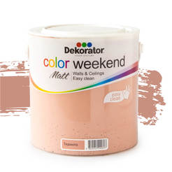 Латекс Color Weekend Теракота 2.5л