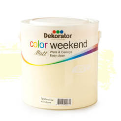 Латекс Color Weekend Тропическа магнолия 2.5л