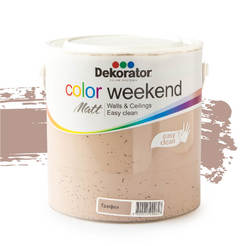 Латекс Color Weekend Трюфел 2.5л