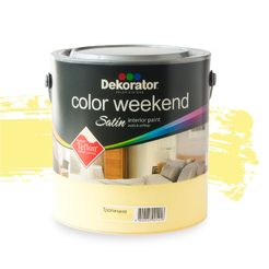 Латекс Color Weekend Тропикана Satin 2.5л