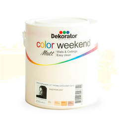 Латекс Color Weekend Бадемов цвят мат 2.5л
