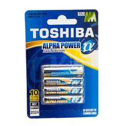 Батерия Alpha Power LR03(AAA)- 4бр/блистер TOSHIBA